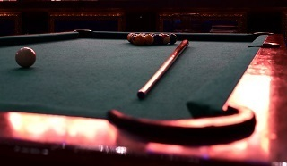 pool table setup in moline content