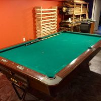 9 Foot Brunswick Pool Table